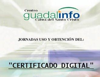 Actividades guadalinfo cabra del santo cristo for Renovar demanda de empleo con certificado digital
